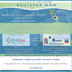 Kern Economic Development Corporation: Economic Summit 2011