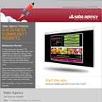 Saba Agency: Restaurant Runner